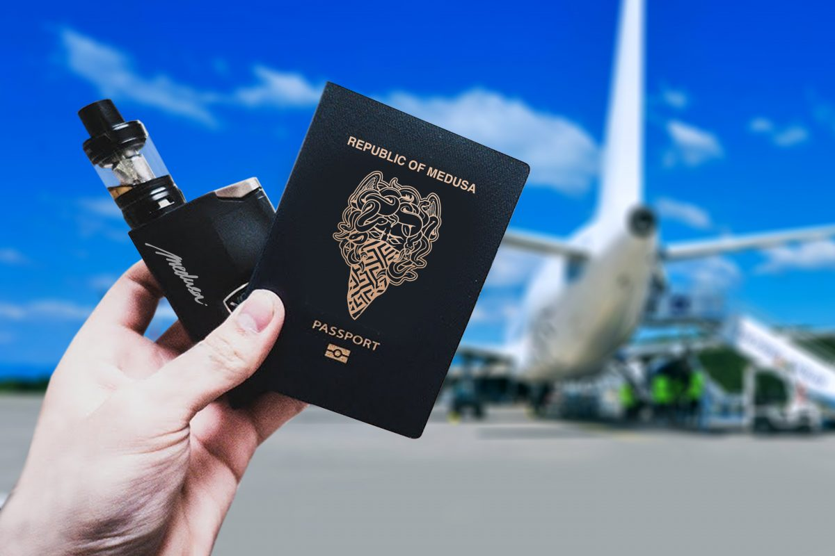 VAPE TRAVELLING GUIDE - HOW TO FLY WITH YOUR VAPE! - MEDUSA JUICE Co.